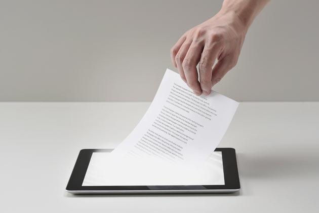 Tabletgebruikers onthouden minder informatie en denken mindercreatief.